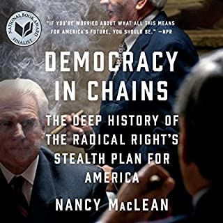 Democracy in Chains audiobook cover art