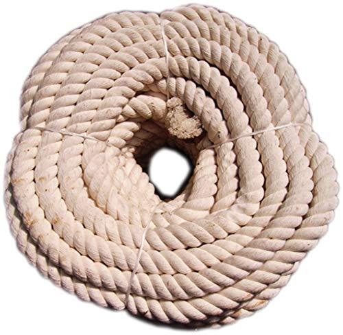Cuerda natural de algodón blanco de 16 mm (precio por m)