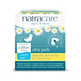 Natracare Organic Cotton Ultra Pads 12 Super Flow
