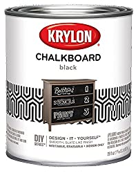 top 10 rust oleum chalkboard paint Krylon K05223000 Blackboard paint special brush, black, quart