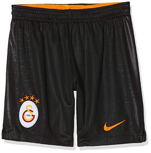 Nike Kinder Galatasaray SK Breathe Stadium Home/Away Shorts, Black/Vivid Orange, L