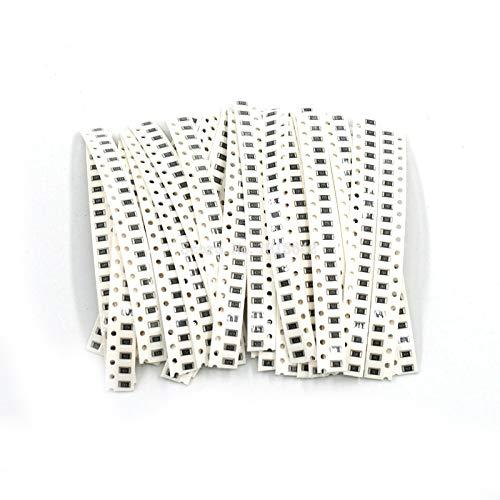 Cikuso 1206 Smd Resistor Kit Assorted Kit 1Ohm-1M Ohm 1% 33 Werte X 20 Stuecke = 660 Stuecke Sample Kit