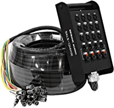 Seismic Audio - SALS-12x4x100 - 12 Channel 100' Pro Stage XLR Snake Cable (XLR & 1/4