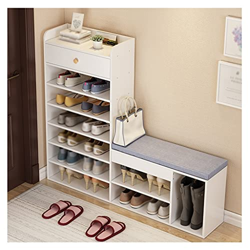 Almacenamiento de zapatos Rack de zapatos 7-capa de pie, estante de zapatos, estantería, estante, sala de estar, dormitorio, dormitorio, almacenamiento, estante, pasillo de entrada, sofá, gabinete de