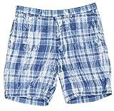 Ralph Lauren Polo Men's 9' Madras Plaid Shorts Size 31 Blue/White