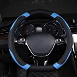 Nelbonls Cubierta de Volante de Coche Tipo D para Kia Proceed Ceed GT Stonic 2017 2018 2019 2020 2021 Picanto Xline Morning