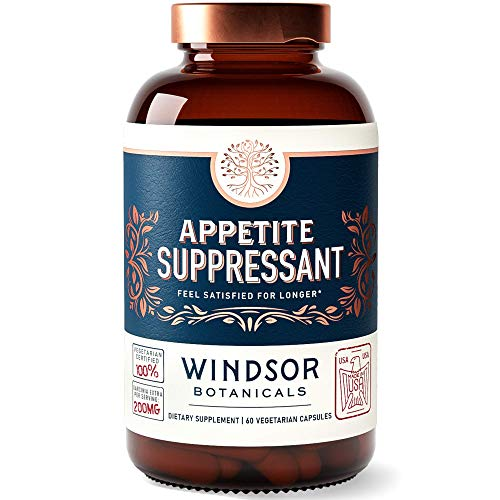 Appetite Suppressant for Weight Loss - Windsor Botanicals High-Potency...