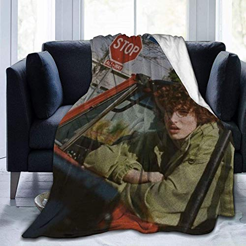 Finn Wolfhard Fleece Blanket Ligero Super Suave Cozy Luxury Bed Manta Microfibra