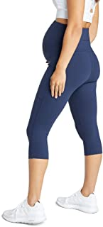 Rockwear Activewear Women's 3/4 Maternity Pocket Tight from Size 4-18 for 3/4 Length High Bottoms Leggings + Yoga Pants+ Y...
