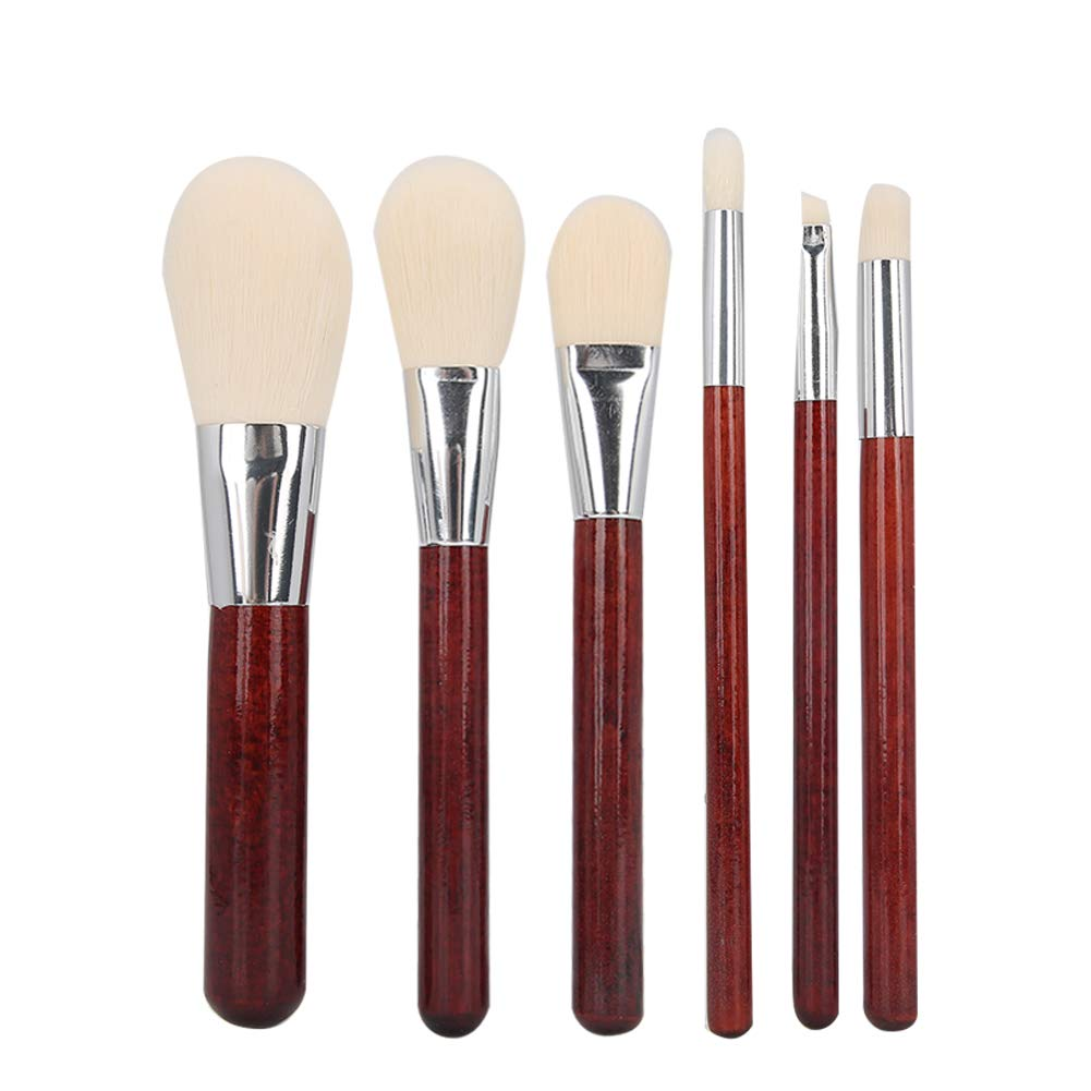 Direct stock discount 6pcs Makeup Brush Portable Cosmetic Blusher Super sale period limited Eyebrow Brushes Ey