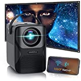 Unicima WiFi Video Projector - Native 1080P Support Zoom 4D...