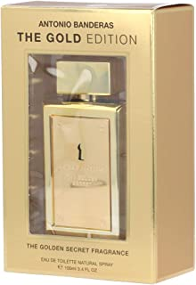 The Golden Secret by Antonio Banderas Eau De Toilette Spray (The Gold Edition) 3.4 oz / 100 ml (Men)