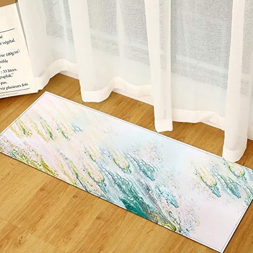 HLXX Alfombra de Entrada de Cocina, decoración de Dormitorio, Alfombra de Piso, balcón, Alfombra de baño, hogar, Sala de Estar, alfombras A11, 50x80cm