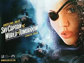 Sky Captain and The World Of Tomorrow Advance Angelina Jolie Post Angelina Jolie Jude Law Gwyneth Paltrow Poster