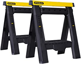 Stanley STST60626 Adjustable Sawhorse Twin Pack