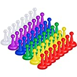Sumind 48 Peones Multicolores de 1 Pulgada Piezas...