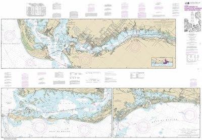 Synthetic Media NOAA Chart Max Deluxe 63% OFF 11427: Waterway Fort Intracoastal Mye