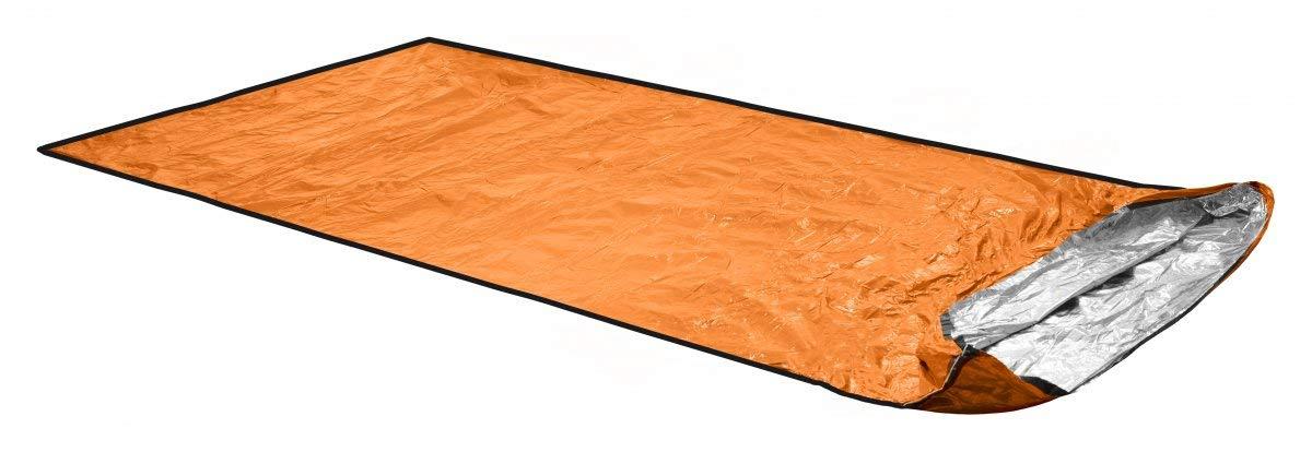 ORTOVOX Unisex– Erwachsene Bivy Ultralight Biwaksack, Shocking Orange, 235 x