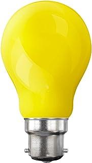 LiquidLEDs LED Classic Dimmable B22 Bayonet Cap GLS Yellow Filament Light Bulb, 4 W (40 W)