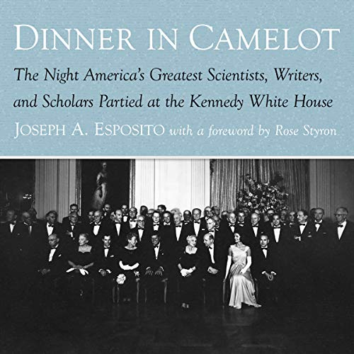 Dinner in Camelot audiobook cover art