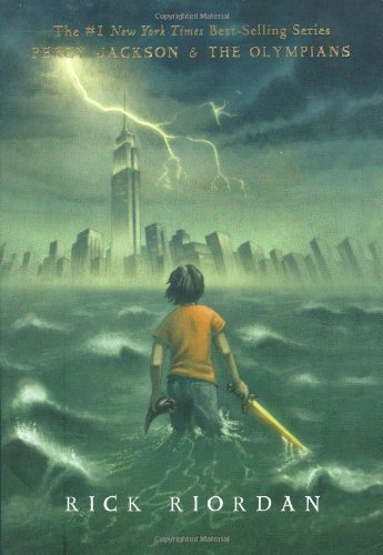By Rick Riordan - The Lightning Thief (Percy Jackson and the Olympians, Book 1) (Literature Circle) (1905-07-12) [Paperback]