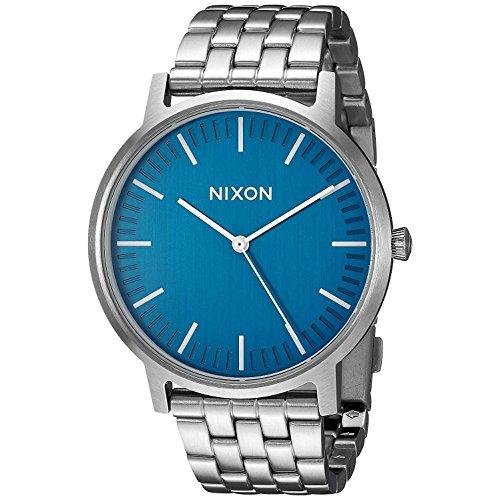 Nixon The Porter Reloj para Mujer Analógico de Cuarzo con Brazalete de Acero Inoxidable A1057307