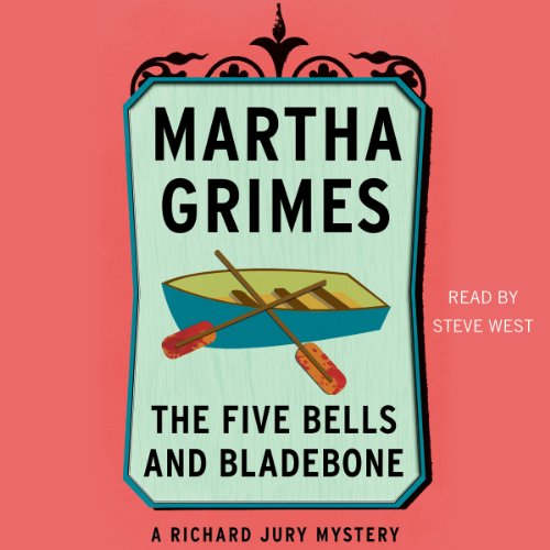 The Five Bells and Bladebone audiobook cover art