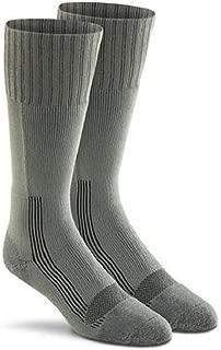 Military Wick Dry Maximum Mid Calf Boot Sock (2 Pack - Large, FOLIAGE GREEN)