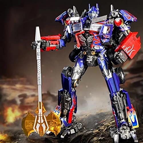 YOYOL Guerra de Transformers para Cybertron Generaciones de Guerra para Cybertron: Líder de Earthrise WFC-E11 Figura de acción de Optimus Prime - Niños de 8 años en adelante Juguetes de Transformador
