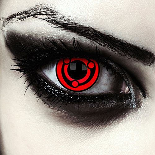 Naruto Cosplay Sharingan Kontaktlinsen Uchiha Madara