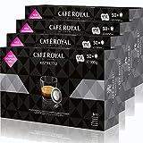 Café Royal Office Pads Ristretto Café, Café Tostado, Monodosis, compatible con Sistema Nespresso Professional, 200Pads