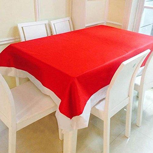 Demarkt Kerstmis tafelkleed tafelkleed tafellinnen tuintafelkleed 132 * 178 cm