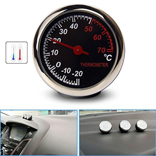 R29 KFZ Auto Thermometer Mechanischer Zeiger Digitale Temperatur Zählwerkzeug, Oberflächenglasspiegel, Anti-Kratzer, hohe Transparenz mit Haltbarkeit