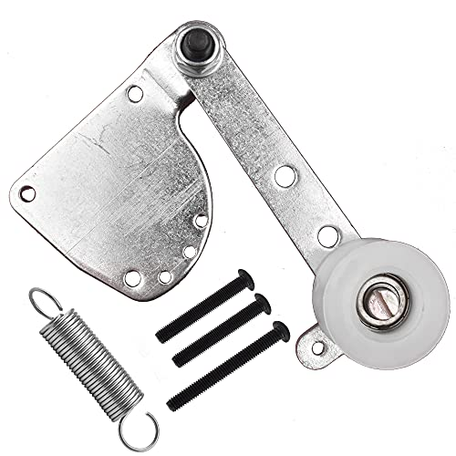 LAXEEM Spring Loaded Chain Tensioner for 49cc 50cc 66cc 80cc Engine Motorized Bike 2 Stroke Engine (Silver)