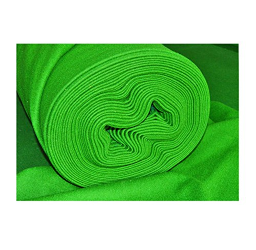 Tela de lana Weichster para mesa snooker de billar, de alta densidad, suave, duradera, 12ft Full Bed & Cushions Cloth