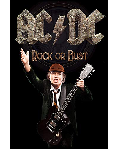 AC/DC - Rock Or Bust/Angus (Poster In Tessuto) Merchandising Ufficiale