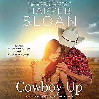 Cowboy Up     The Coming Home Series, Book 3              Auteur(s):                                                                                                                                 Harper Sloan                               Narrateur(s):                                                                                                                                 Elizabeth Louise,                                                                                        Jason Carpenter                      Durée: 8 h et 12 min     1 évaluation     Au global 4,0
