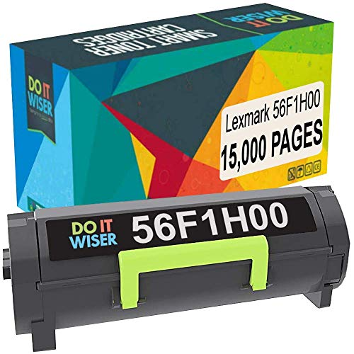 Do it Wiser Compatible Toner Cartridge for Lexmark 56F1H00 MS321, MS421, MS521, MS621, MS622, MX321, MX421, MX521, MX522, MX622 (15,000 Pages)