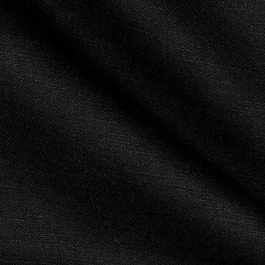 Robert Kaufman Kaufman Handkerchief Linen Blend, Yard, Black
