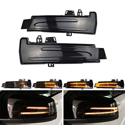 Spiegelblinker Dynamische Blinkerleuchten Blinker für W204 W176 W212 CLA A B C E S GLA GLK CLS Klasse W246 C117 X156 X204 W221 W218