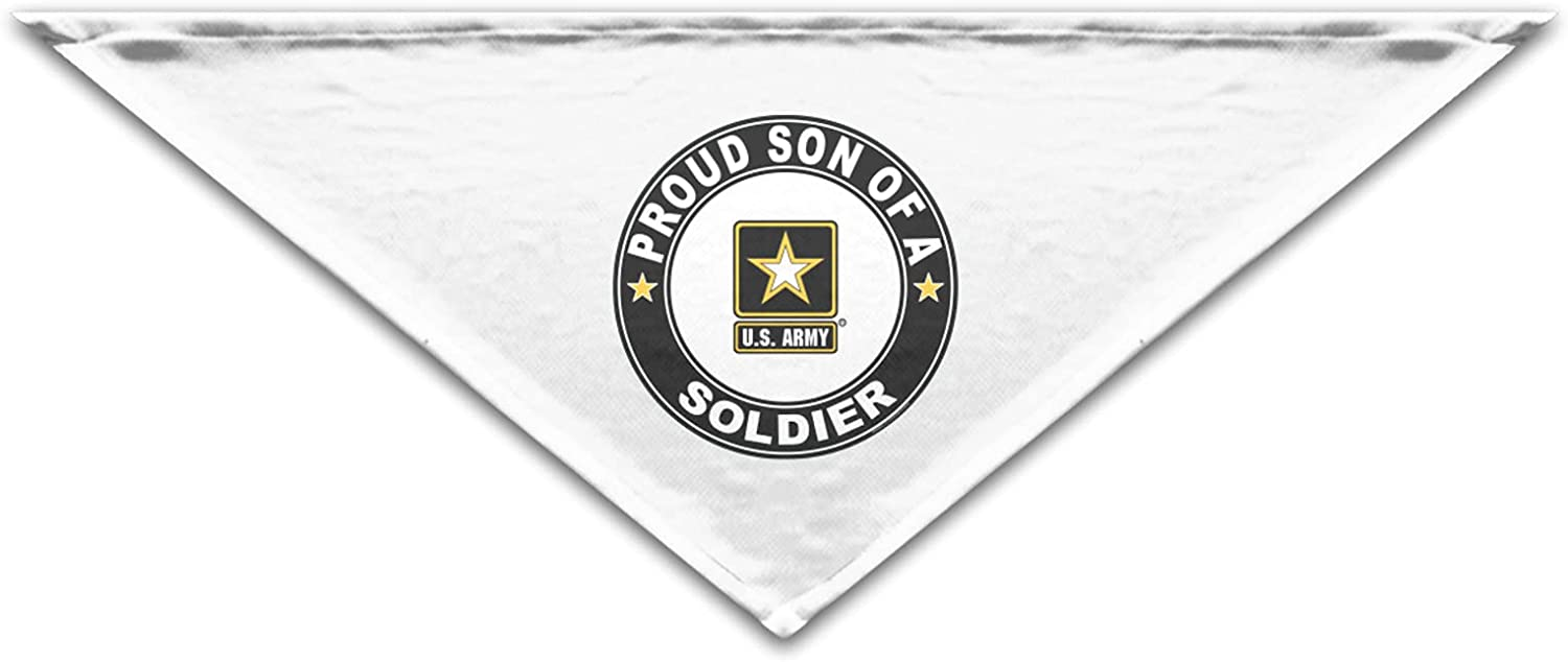Proud Son of a Soldier U.S. Army Cool Bandanas San Jose Mall Round Bir 2021 autumn and winter new Fashion