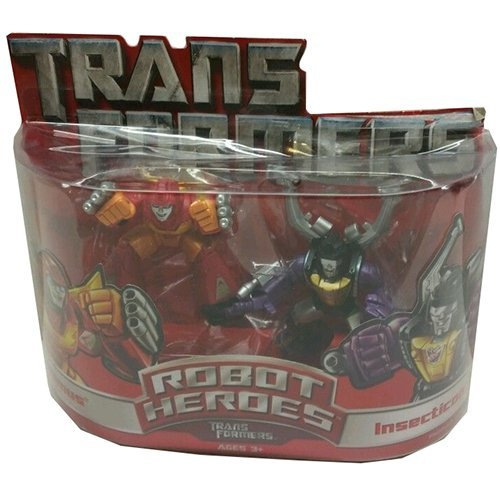 Rodimus & Insecticon - Transformers Robot Heroes by Transformers