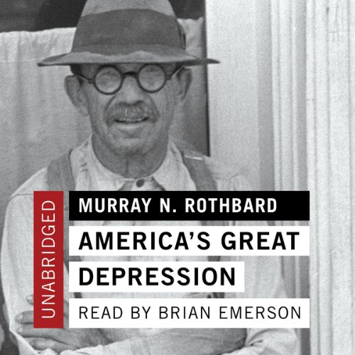 America's Great Depression  audiobook cover art