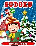 Sudoku enfants 4-8 ans: Sudoku pour les enfants 4x4 - 6x6 - 9x9 | 290 sudoku | Niveau: facile-moyen-difficile | avec des solutions (édition Noël)