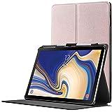 Forefront Cases Smart Hülle kompatibel für Samsung Galaxy Tab S4 10.5   S-Pen Stifthalter   Magnetische Cover Galaxy Tab S4 10.5 Zoll Tablet-PC SM-T830/T835   Auto Schlaf Wach Dünn Leicht   Roségold