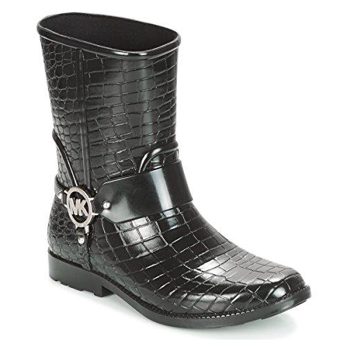 MICHAEL MICHAEL KORS MK CROCO RAIN BOOTIE Laarzen dames Zwart Regenlaarzen
