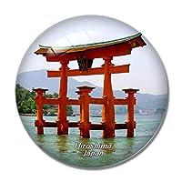 日本厳島神社広島冷蔵庫マグネットホワイトボードマグネットオフィスキッチンデコレーション