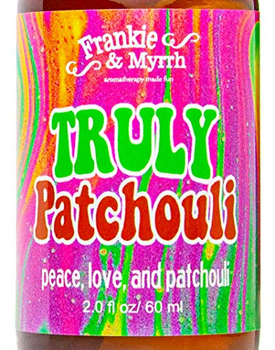 Truly Patchouli | Dark Aged Patchouli Oil Perfume/Cologne | Earthy, Musky Aromatherapy Spray for Relaxing Stimulation