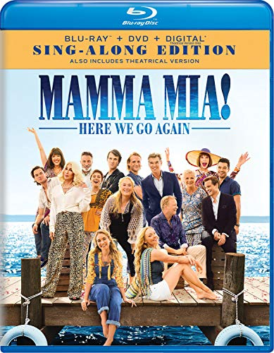 Mamma-Mia Here We Go Again (Blu + Digital) or Huntsman - Winter's War (Blu + Digital) $4.99 at amazon.com