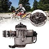 Ambienceo - Motor de 2 tiempos para minimoto, de 49 c. c., carburador, filtro de aire, arranque con...